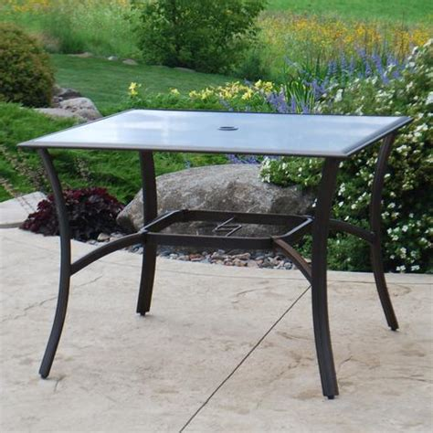 Backyard Creations Manhattan Table Backyard Creations Somerset Dining Table At Menards 174