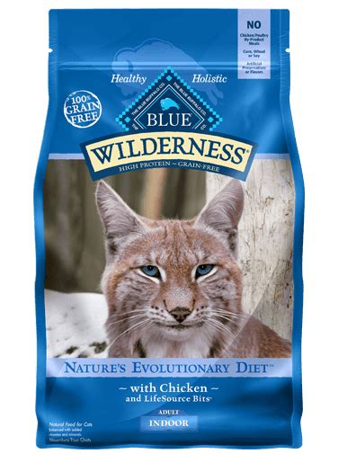 blue wilderness food blue wilderness 174 cat food indoor chicken recipe