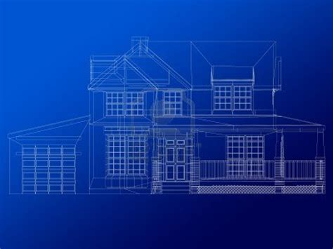 house blueprint background blueprints
