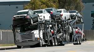 new car truck car carrier trucks at los angeles