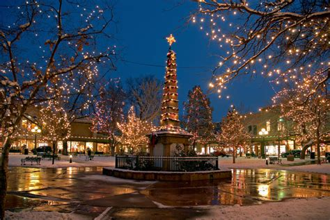 christmas in santa fe new mexico pinterest