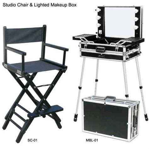 Studio Chair by Lighted Makeup Box Lighted Makeup Studio Chair View Lighted Makeup Box Lighted Makeup