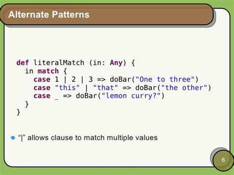 pattern matching multiple values pattern matching in scala