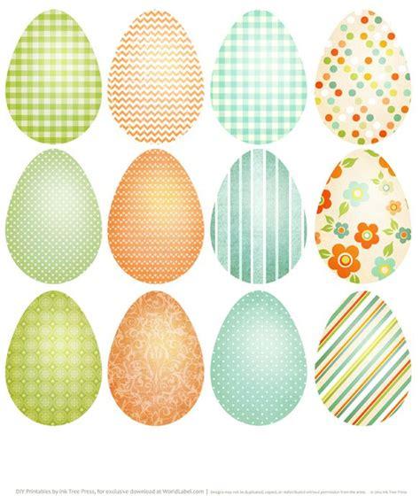 printable egg stickers printable easter eggs http blog worldlabel com 2014