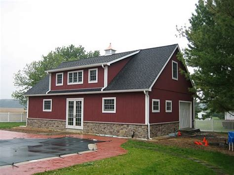 Barn Shop House Pole Barn Homes Plans Barn Homes Pole Barn House Plans