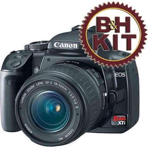 Lcd Canon 400d Rebel Xti Digital X canon eos digital rebel xti digital kit black b h