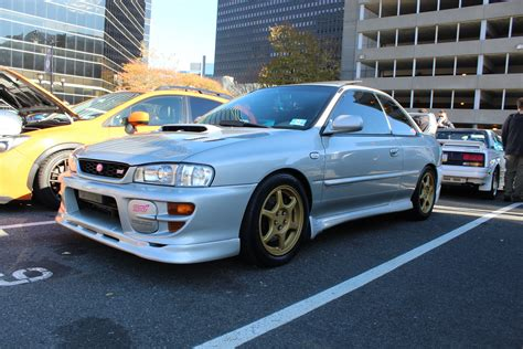subaru gc8 coupe my 2000 silver sti coupe subaru impreza gc8 rs forum