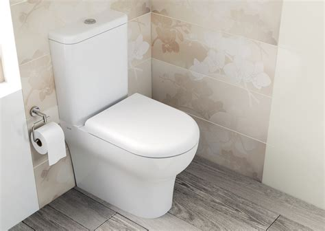 White Designer Kitchens vitra zentrum closed back close coupled wc pan with