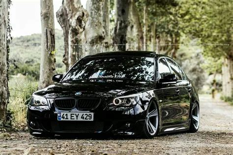 bmw e60 5 series black the ultimate driving machine