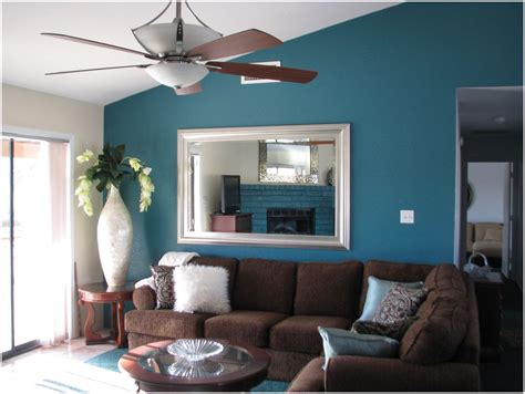 living room blue paint ideas modern house