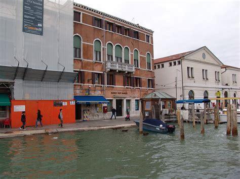 banco san marco along venice s grand canal