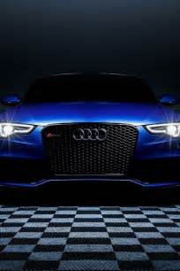 640x960 blue audi rs5 headlights iphone 4 wallpaper