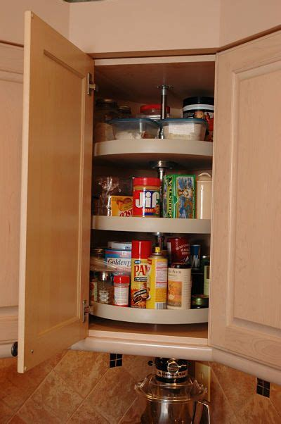 rotating shelves kitchen cabinets the 25 best corner kitchen ideas on pinterest