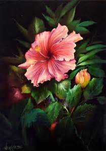 Flowers Of Different Colors - tropical pink hibiscus gary jenkins