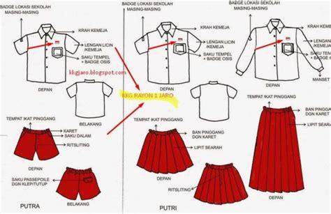 Seragam Sekolah Sd Merah Putih seragam sekolah wajib ada bendera merah putih okezone news