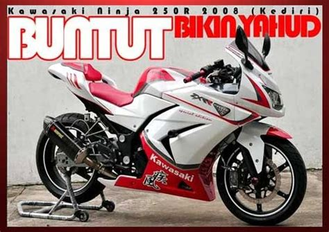 Frame Slider Z250 By Balu Oto Work modifikasi 250 fi fighter fairing ducati