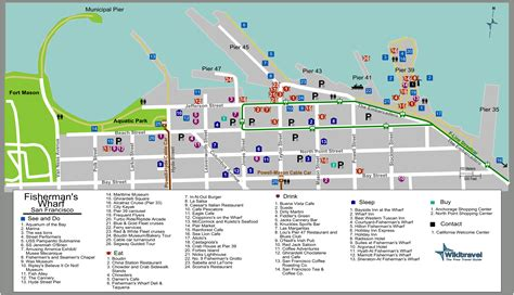 san francisco map of fishermans wharf best restaurants in fishermans wharf check out best