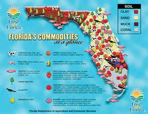 florida industry map my florida notebook simplebooklet