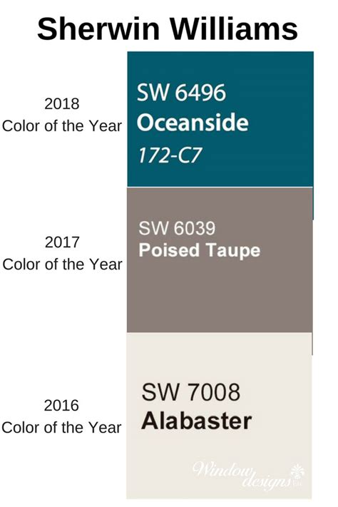 sherwin williams oceanside 2018 color of the year