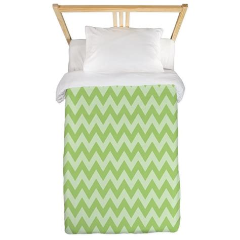 mint green chevron bedding mint green chevron twin duvet by thetestshop