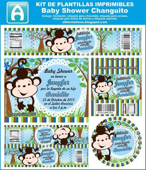 printable invitation kits baby shower all invitations kit baby shower tema changuito diy