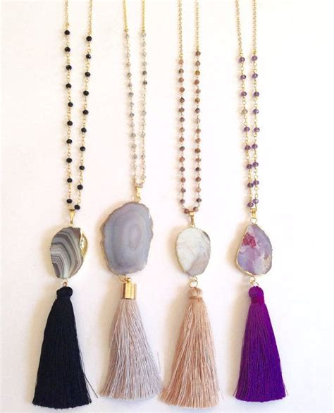 Tassel Necklace 25 best ideas about tassel necklace on diy