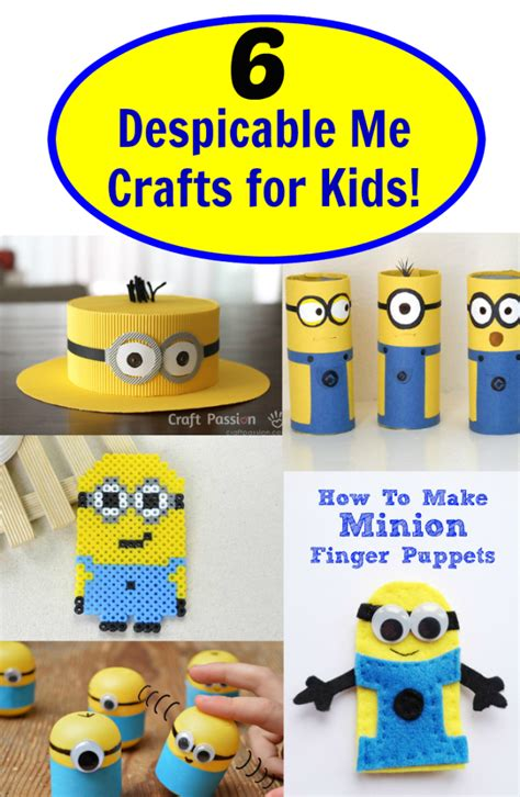 minion diy crafts 6 despicable me crafts for fabulessly frugal