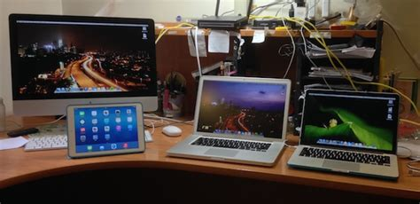 Photographers Desk Setup Mac Setup Desk Of A Student Hobbyist Photographer