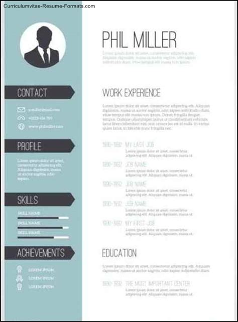 Professional Resume Template Exles by Editable Resume Templates 28 Images 20 Awesome Resume
