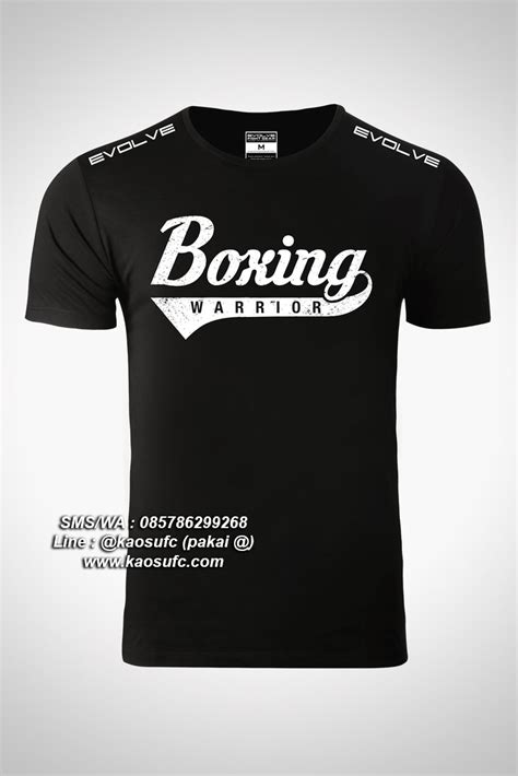 Kaos Boxing 4 jual kaos boxing evolve fight team sms wa 085786299268