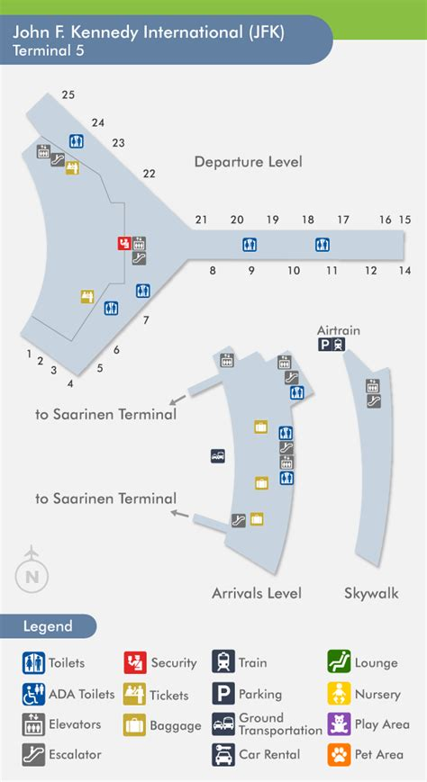 jfk terminal 4 map jfk airport terminal 1 images