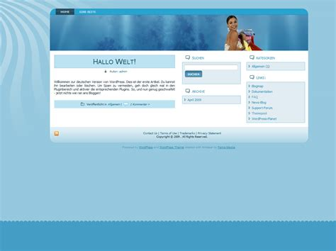 wordpress layout kopieren wordpress theme 004 fema media templateshop modified
