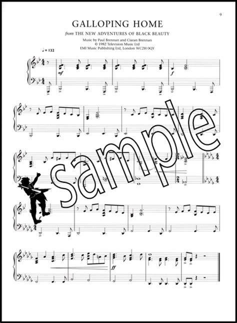themes black beauty form 1 fifty years of itv piano solo hamcor
