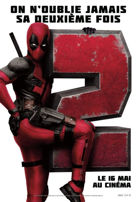 deadpool 2 poster deadpool 2 gets another new poster major character