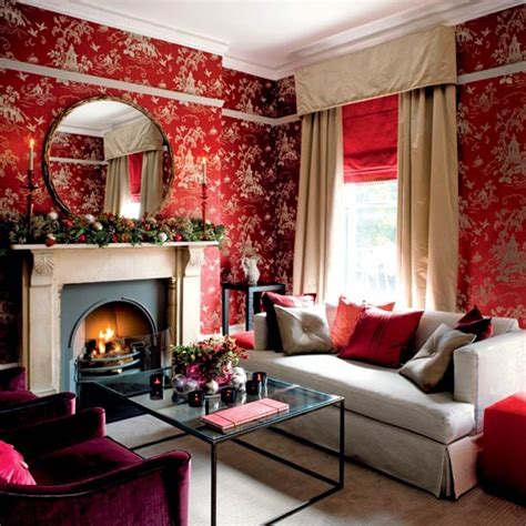 Red dark red can be a passionate color for bedrooms rather than going