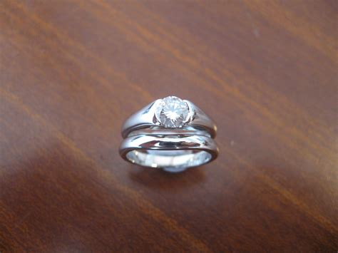 wedding ring that fits around engagement ring jewelry ideas