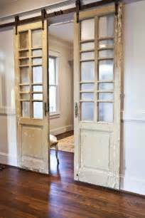 Reclaimed Sliding Barn Doors Modern And Rustic Interior Sliding Barn Door Designs