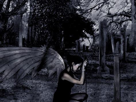 imagenes anime goticas dark adiccion gotica angeles negros