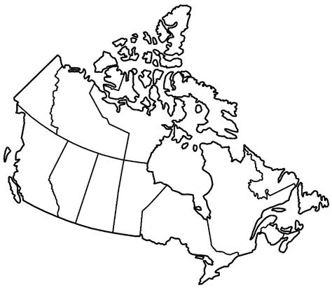usa and canada map black and white blank canada map dr