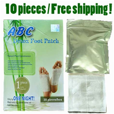Goldrelax Detox Foot Patch Reviews by Free Shipping 10 Pieces Detox Foot Patch Pad With