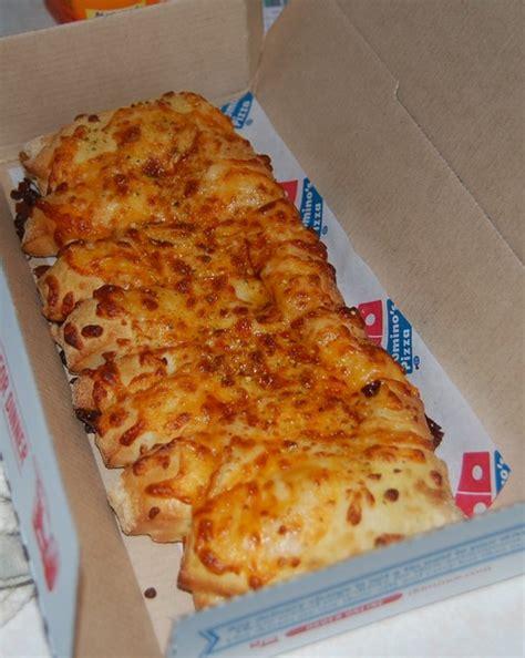domino pizza cheese cheesy breadsticks dominos