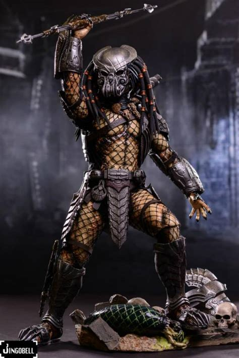 hot toys avp celtic predator figure final product images