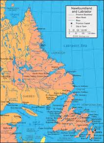 newfoundland map canada 25 best ideas about newfoundland map on