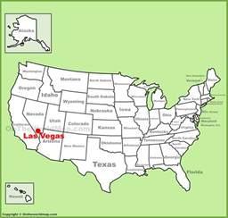 usa map with states las vegas las vegas location on the u s map