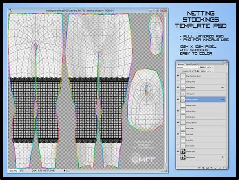 second life marketplace netting stockings template