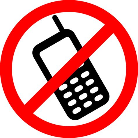clipart cellulare no cell phones allowed clip at clker vector clip