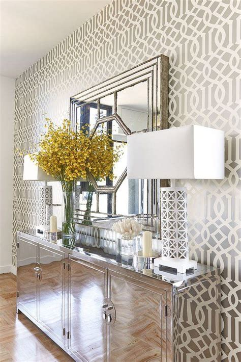 Old Hollywood Glamour Home Decor by Best 25 Modern Foyer Ideas On Pinterest Contemporary