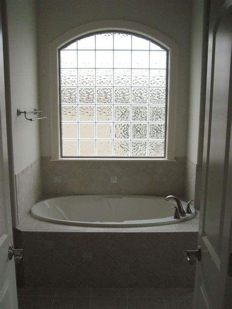 Bathtub Block by Glass Block Window Bathtub Bathroom Decor