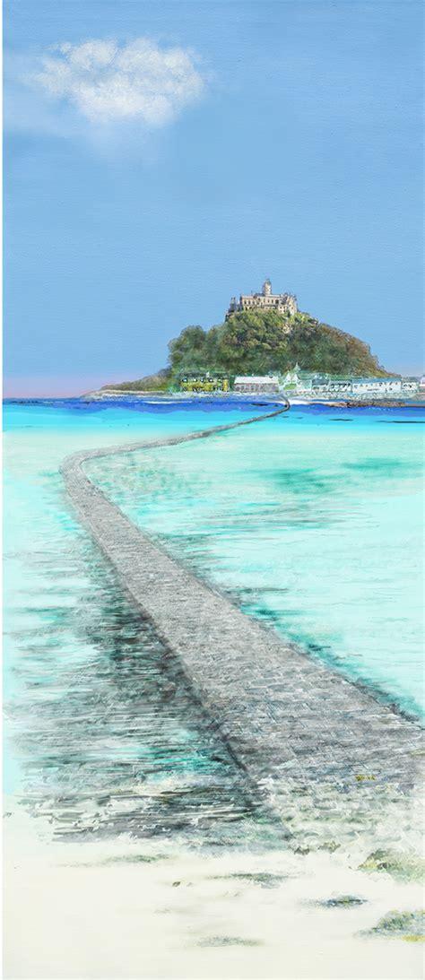 st s st michael s mount blue harbour gallery