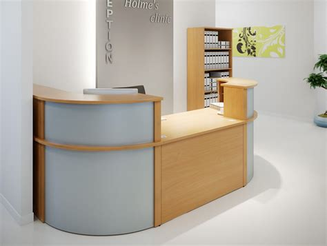 Corner Reception Desk Ashford Reception Corner Metal Desk In White Radius Office
